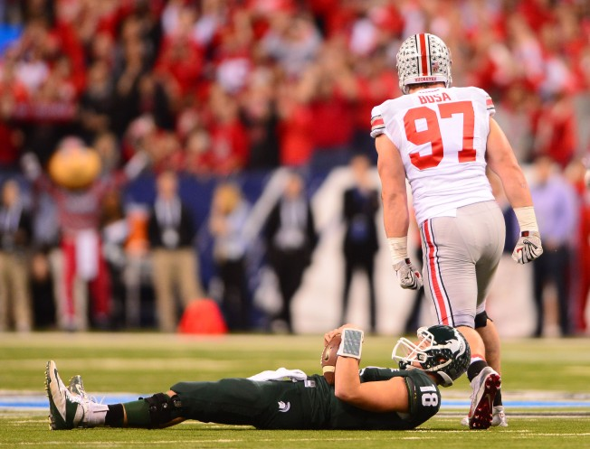 NCAA Football: Big Ten Championship-Michigan State vs Ohio State